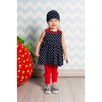 Платье трикотажное для девочек 712035