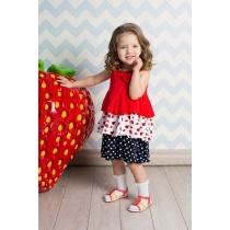 Платье трикотажное для девочек 712039