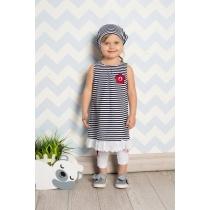 Платье трикотажное для девочек 712048