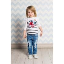 Брюки джинсовые для девочек 712055