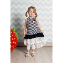 Платье трикотажное для девочек 712060