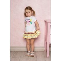 Платье трикотажное для девочек 712073