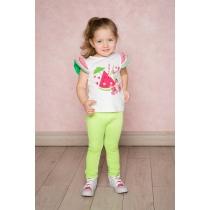 Комплект трикотажный для девочек: брюки 2шт 712088