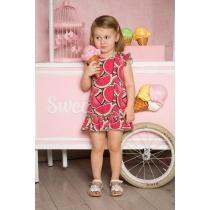 Платье трикотажное для девочек 712090