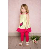 Платье трикотажное для девочек 712091