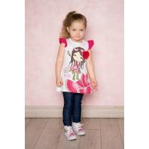 Платье трикотажное для девочек 712100