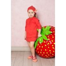 Платье текстильное для девочек 712118