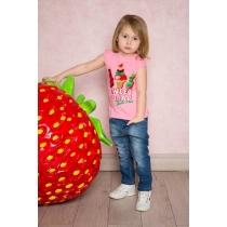 Брюки джинсовые для девочек 712138