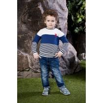 Брюки джинсовые для мальчиков 713004