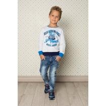 Брюки джинсовые для мальчиков 713031