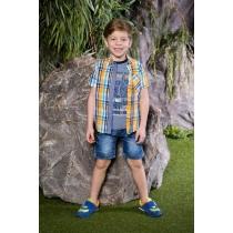 Рубашка текстильная для мальчиков 713072