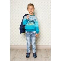 Брюки джинсовые для мальчиков 713082