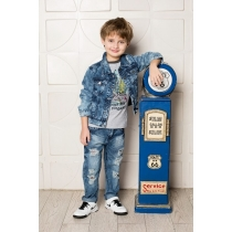 Жакет джинсовый для мальчиков 713105