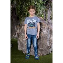 Брюки джинсовые для мальчиков 713141