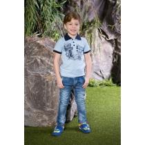 Брюки джинсовые для мальчиков 713142