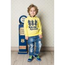 Брюки джинсовые для мальчиков 713143
