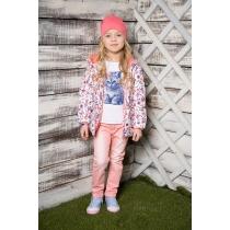 Куртка текстильная для девочек 714000
