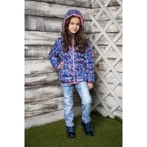 Куртка текстильная для девочек 714001