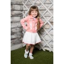 Жакет текстильный для девочек 714002