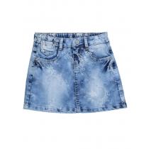 Юбка джинсовая для девочек 714009