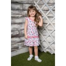 Платье трикотажное для девочек 714024