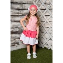Платье текстильное для девочек 714026