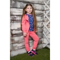 Спортивный трикотажный костюм для девочек 714029