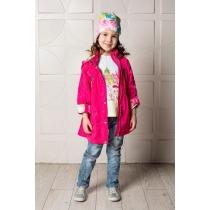 Плащ текстильный для девочек 714035