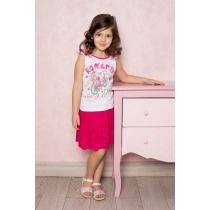 Юбка текстильная для девочек 714041