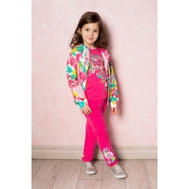 Спортивный трикотажный костюм для девочек 14044
