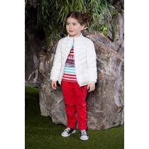 Куртка текстильная для девочек 714066