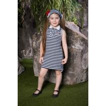 Платье трикотажное для девочек 714089