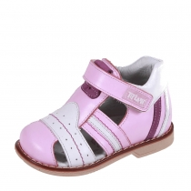 Профилактические дошкольные сандалии, розовый/белый 22P 0404/04