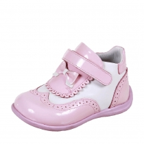 Ботинки малодетские для девочки, белый/розовый 12В 236/88-50