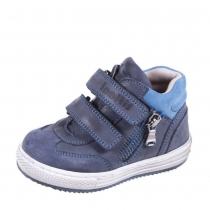 Ботинки малодетские для мальчика, темно-синие 18B E-5719/030-04