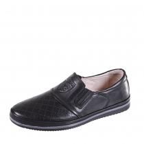 Туфли школьные, черные 36F 1245/101