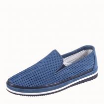 Туфли школьные, светло-синие 36F 1246z/021-105