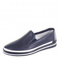 Туфли школьные, темно-синие 36F 1246z/105-100
