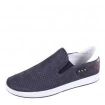 Туфли школьные для мальчика, темно-синие 36F 3371z/018-105-100