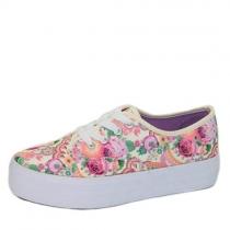 Кеды для девочки, цветочный принт H-807-1 mixed flower