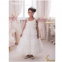 Детское платье для девочки TRINITY bride  RP TG0011 TR03011_white