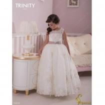 Детское платье для девочки TRINITY bride  RP TG0018 TR03018_ivory-cahuchino
