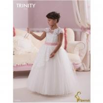 Детское платье для девочки TRINITY bride  RP TG0022 TR03022_white