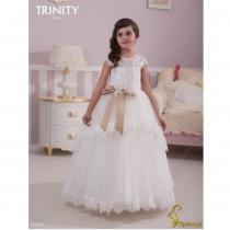Детское платье для девочки TRINITY bride  RP TG0026 TR03026_white