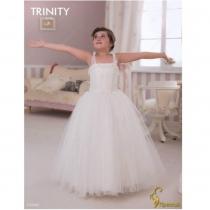 Детское платье для девочки TRINITY bride  RP TG0043 TR03043_white