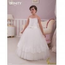 Детское платье для девочки TRINITY bride  RP TG0044 TR03044_white