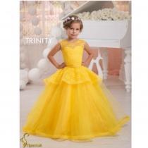 Детское платье для девочки TRINITY bride  RP TG0058 TR03058_yellow