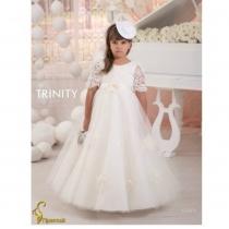 Детское платье для девочки TRINITY bride  RP TG0076 TR03076_ivory