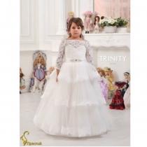 Детское платье для девочки TRINITY bride  RP TG0077 TR03077_white
