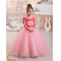 Детское платье для девочки TRINITY bride  RP TG0103 TR03103_corall